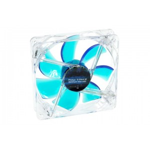 Phobya G-Silent 120 x 25mm Fan - 1500RPM | Blue LED (78306)