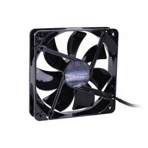 Phobya G-Silent 120 x 25mm Fan - 1600RPM | Black Edition (78352)