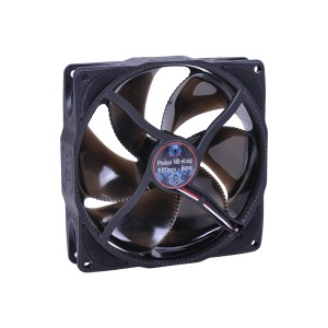 Phobya NB-eLoop 120 x 25mm Bionic Fan | Black Edition - 1000rpm (78406)