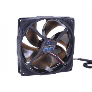 Phobya NB-eLoop 120 x 25mm Bionic Fan | Black Edition - 1800rpm (78422)