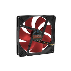 Phobya G-Silent 180 x 32mm Fan - 700RPM | Red LED (79080)