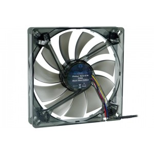 Phobya Nano-G 140 x 25mm PWM Fan - 1100RPM | Black (79082)