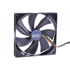 Phobya G-Silent 180 x 25mm Fan - 700RPM | Black (79089)