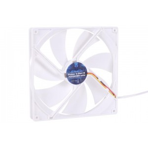 Phobya G-Silent 180 x 25mm Fan - 700RPM | White (79092)