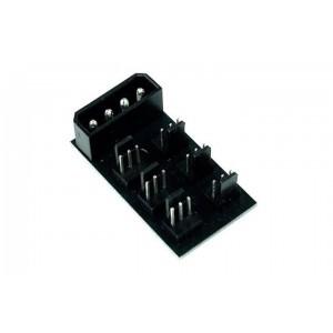 Phobya 4-Pin Molex to 6x 3-Pin Fan Splitter PCB (81097)