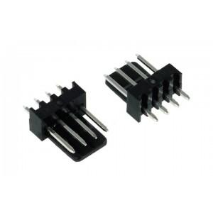 Phobya PWM Fan Power Connector (incl. pins) - 2ct | Male  (82352)
