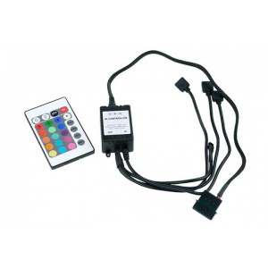 Phobya LED-Flexlight RGB Controller with IR-Remote Controller (83156)