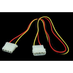 Phobya 4-Pin Molex Extension Cable - 60cm (87272)