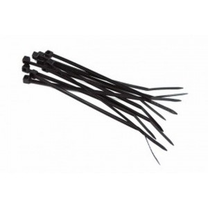 Phobya Zip Tie Black 2.5x100mm - 10pcs (93091)
