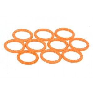 Phobya G1/4 O-ring 11,1 x 2mm – 10pcs. - UV Reactive Orange (95058)