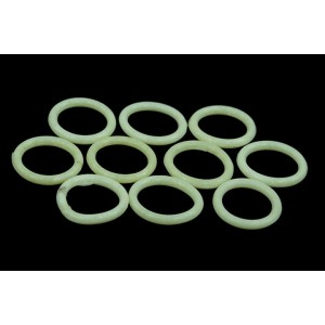 Phobya G1/4 O-ring 11,1 x 2mm – 10pcs. - UV-Reactive White (95059)