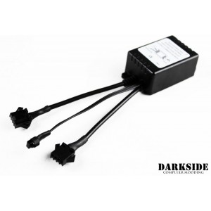 Darkside Custom Configurable Colour, Dual RGB LED Controller with Remote (DS-0535)