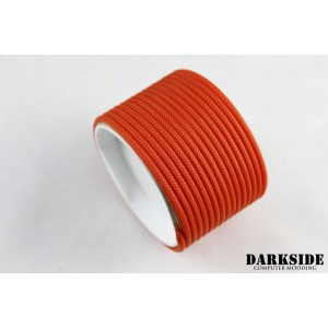 "Darkside 4mm (5/32"") High Density Cable Sleeving - Orange II (DS-0452)"