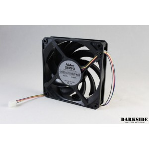 Gentle Typhoon Performance Radiator Fan (550-1850rpm) 58cfm - Black Edition PWM (D1225C12B5ZPA65)