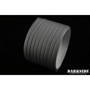 "Darkside 6mm (1/4"") High Density Cable Sleeving - Titanium Gray (DS-0764)"