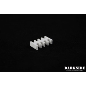 Darkside 8-Pin Cable Management Holder- White (3DS-0005)