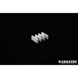 Darkside 6-Pin Cable Management Holder- White (3DS-0006)