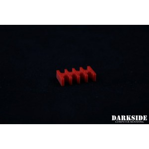 Darkside 8-Pin Cable Management Holder- Red (3DS-0009)
