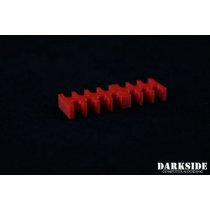 Darkside 14-Pin Cable Management Holder- Red (3DS-0012)
