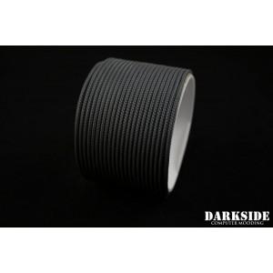 """Darkside 2mm (5/64"""") High Density Cable Sleeving - Gun Metal  (DS-0836)"""