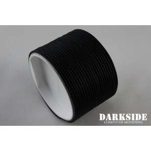 "Darkside 2mm (5/64"") High Density Cable Sleeving - Black (DS-HD2-BLK)"