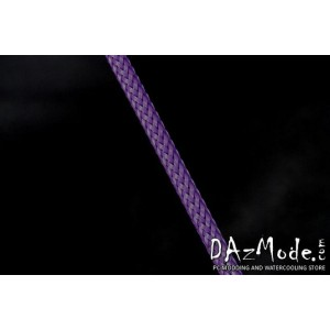 "Darkside 6mm (1/4"") High Density Cable Sleeving - Purple UV (DS-HD6-PUR)"