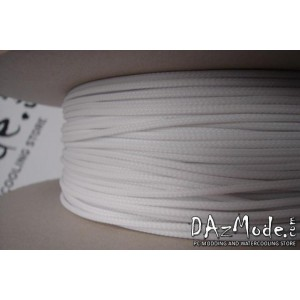 "Darkside 6mm (1/4"") High Density Cable Sleeving - White (DS-0255)"