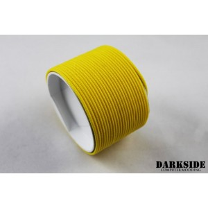 "Darkside 2mm (5/64"") High Density Cable Sleeving - Yellow II (DS-0427)"