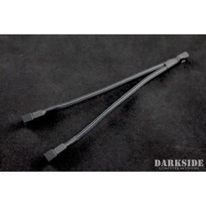 Darkside 4-Pin Dual Fan Power Y-Cable Splitter - Graphite Metallic (DS-0477)