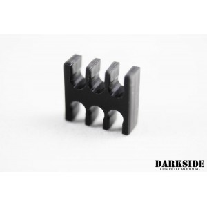 DarkSide 6-Pin PCI-E Cable Wire Management Holder - Black (DS-0515)