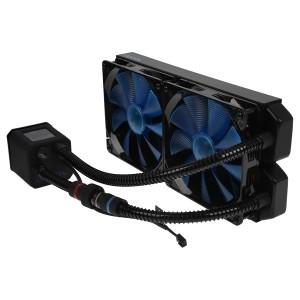 Alphacool Eisbaer 280 AIO CPU Cooler - Black (11287)