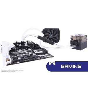 Alphacool Eissturm Gaming Copper 30 1x120mm - Complete Kit (11482)