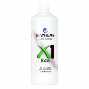 Mayhems X1 V2 Pre-Mixed Coolant - UV Green | 1000ml (MX1UVG1LTR)
