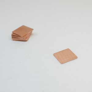Pure Copper Thermal Pad 20mm x 20mm x 0.8mm - (TP-PC-20-08)