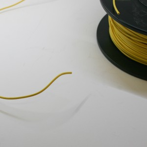 MMM 18 AWG  Ul1007 Hookup Wire - Yellow (MOD-0146)