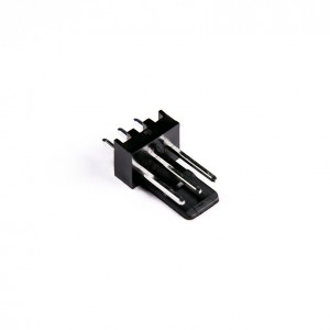 MMM 3-Pin Fan Male Header - Solder - Black (MOD-0251)