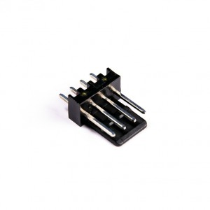 MMM 4-Pin Male Fan Header - Solder - Black (MOD-0252)
