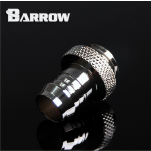 "Barrow G1/4"" 3/8"" Barb Fitting - Silver (TB3C-C02-Silver)"