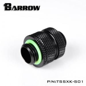 "Barrow G1/4"" 16-22mm Adjustable SLI / Crossfire Connector - Black (TSSXK-S01)"