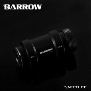Barrow G1/4 Female to Female Manual Inline Valve - Black/Black (TTLPF)