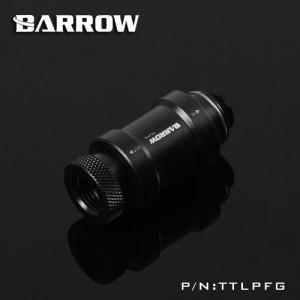 Barrow G1/4 Male to Female Manual Inline Valve - Black/Black (TTLPFG)