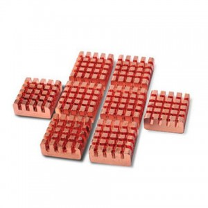 PcCooler VGA Ram Heatsinks Copper - 8 Pieces (RHS-03/B16)