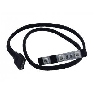 Watercool HEATKILLER® LED Stripes - Size XS Angled - RGB (78019)