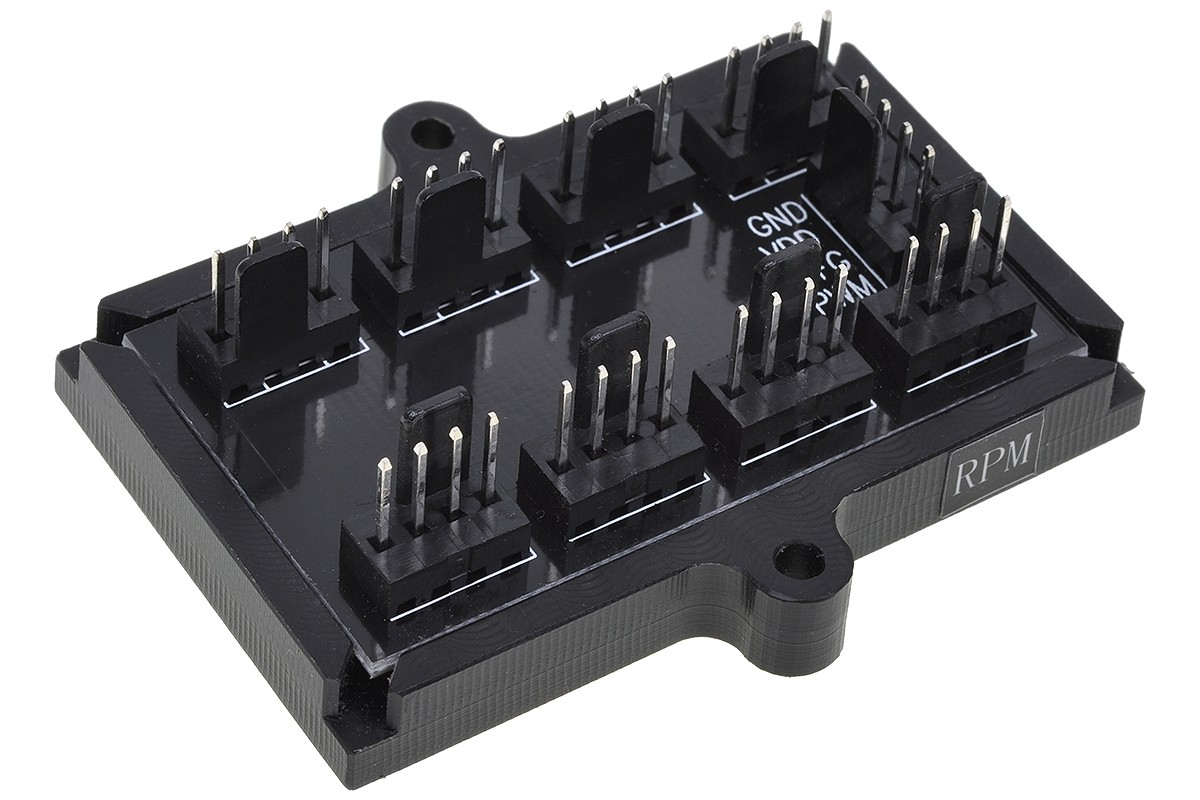 Phobya 4 Pin Pwm To 8x 4 Pin Pwm Splitter Pcb 81136