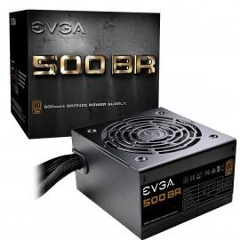 EVGA 500 BR, 80+ BRONZE 500W, Power Supply (100-BR-0500-K1)
