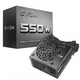 EVGA 550 N1, 550W, Power Supply (100-N1-0550-L1)