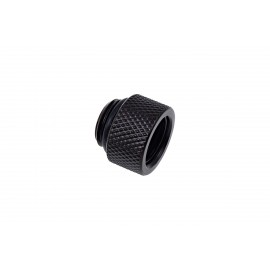 "Alphacool Eiszapfen G1/4"" Male to Female Extender Fitting - 10mm - Black (17254)"