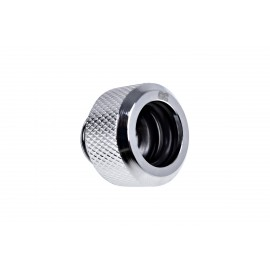 "Alphacool Eiszapfen 13mm G1/4"" HardTube Knurled Compression Fitting - Chrome (17263)"