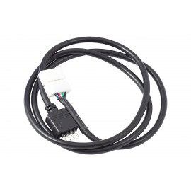 Aquacomputer Connector for RGB LED Strips 70 cm - Black (53182)