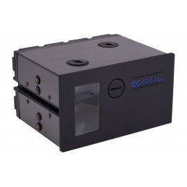 Alphacool Eisfach - Single Laing DC-LT - Dual 5,25 Bay Station incl. 2x Alphacool DC-LT 2400 (13287)